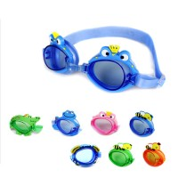 POQSWIM Charactyrs Happy Animal Kids Swim Goggles