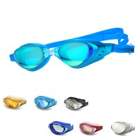 POQSWIM Corrective Optical Swim Goggles Clear 2.0~-8.0