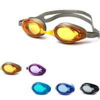 POQSWIM Vanquisher Swim Goggle Kid's Lens Clear Frame Goggles
