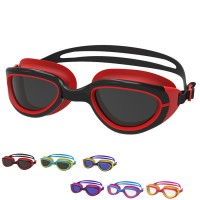 POQSWIM Predator Junior Swim Goggles Metallized Swim Goggles