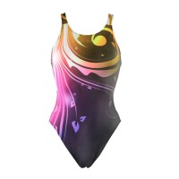 Adoretex Team Splice Wide Strap One Piece Swimsuit PM5006