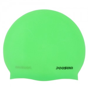 Poqswim Usual 48g Silicone Solid Swimming Caps - Poqswim Official #1 Rated Swim Cap