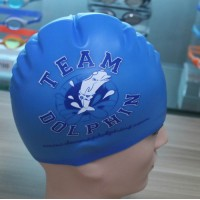 Swim School Swim Cap Printed Team Swim Cap
